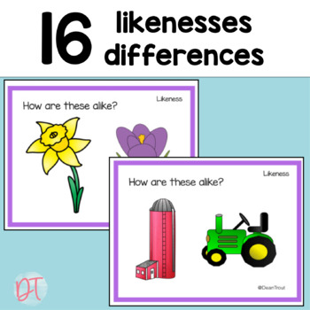 Spring Speech Therapy Critical Thinking Task Cards