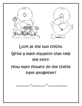 Spring Activities~ writing and math