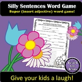 Spring Activity | April Showers Silly Word Game