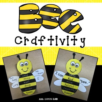 Spring Activity | Bee Craftivity