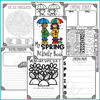Spring Activity Book Freebie