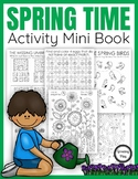 Spring Activity Book – Puzzles, Mazes and Activities