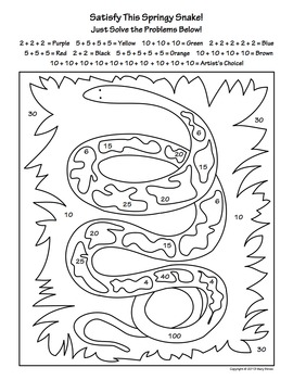 Spring Activity Coloring Pages