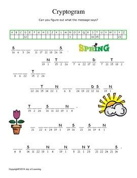 Spring Activity Fun