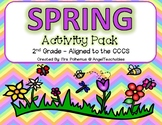 Spring Activity Pack! Aligned with the 2nd Grade CCCS - Ev