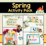 Spring Activity Pack for Preschoolers