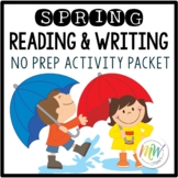 Spring Reading and Writing Packet