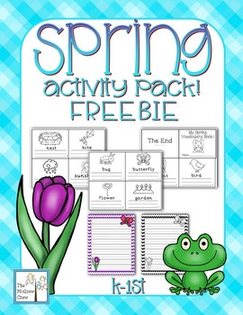 Spring Activity Set FREEBIE!