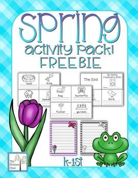 Spring Activity Set FREEBIE!