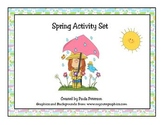 Spring Activity Set PDF Version