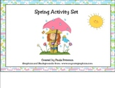 Spring Activity Set for Smart Board
