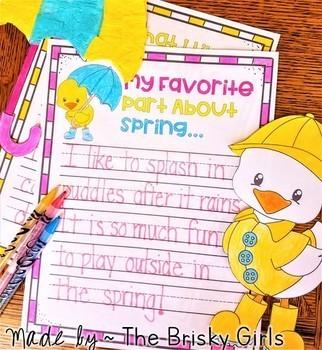 Spring Activity (Spring Craftivity)