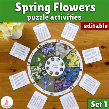 Spring Flowers Puzzle + Poster