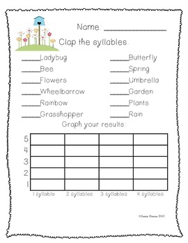 Spring Activity Worksheets