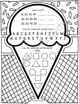 Spring and Summer Coloring Pages