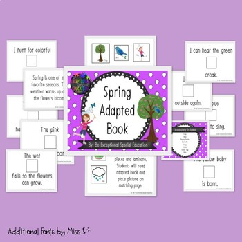 Spring Adapted Book