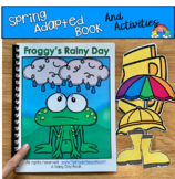 Spring Adapted Book And Activities