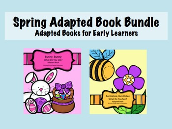 Spring Adapted Book Bundle - What Do You See?