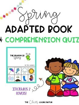 Spring Adapted Book & Comprehension Quizzes