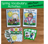 """Spring Adapted Book--""""Spring is on the Way!"""""""