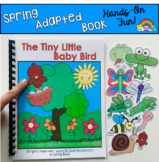 "Spring Adapted Book--""The Tiny Little Baby Bird""/Wh Questions"