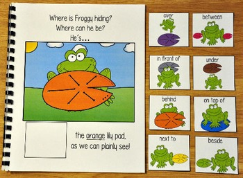 Spring Adapted Book:  Where is Froggy Hiding?