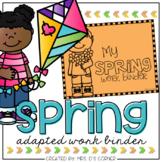 Spring Adapted Work Binder