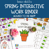 Spring Interactive Work Binder – Basic Skills & Aligned to