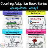 Spring Adaptive Counting Book Bundle (set of 4)