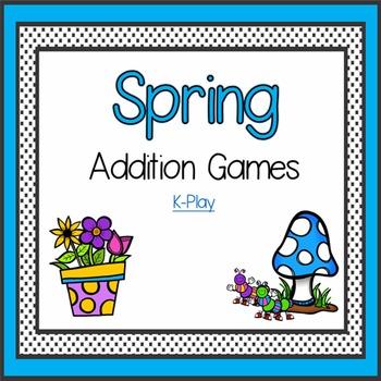 Spring Math Addition Games