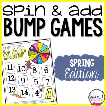 Spring Addition Games