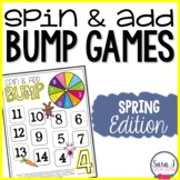 Addition Fact Fluency Games - Spring BUMP