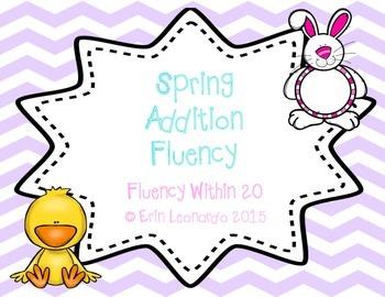 Spring Addition Fluency