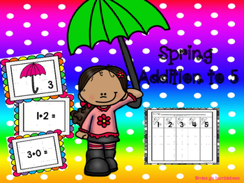 Spring Addition Fluency to 5