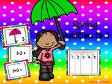 Spring Addition Fluency to 5