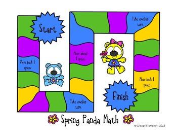 Spring Addition Game
