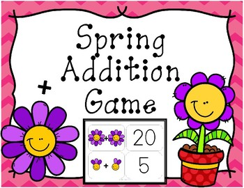 Spring Addition Game