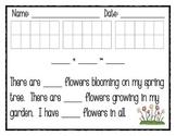 Spring Addition Math Story