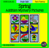 Spring  Addition Mystery Pictures