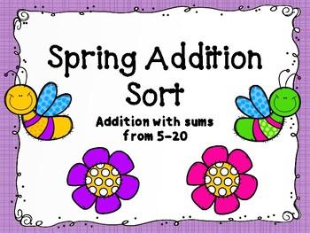 Spring Addition Sort