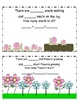 Spring Addition Story Mini Book