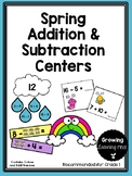 Spring Addition & Subtraction Centers