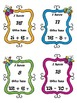 Spring Addition & Subtraction I Have Who Has 1.OA.6