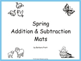 Spring Addition & Subtraction Mats eBook