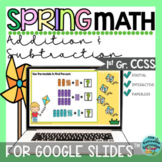 Spring Addition & Subtraction within 100 for Google Slides™