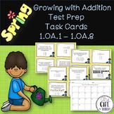 1st grade Spring Addition Test Prep