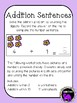 Spring Addition Within 10: Number Sentences