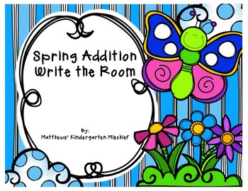 Spring Addition Write the Room