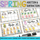 Spring Addition and Subtraction Centers