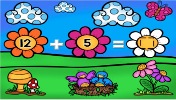 Google Classroom Spring Addition and Subtraction to 20